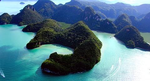 лангкави озеро беременной девы