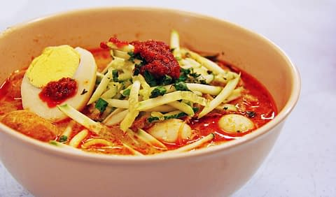 Суп лакса Малайзия