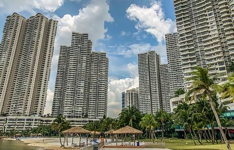 жилые дома небоскребы Джохор-Бару Малайзия