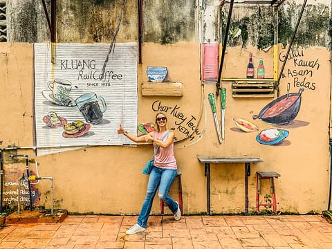 kluang rail coffee кафе джохор малайзия
