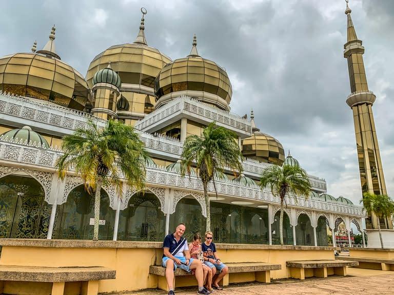 masjid kristal crystal mosque malaysia