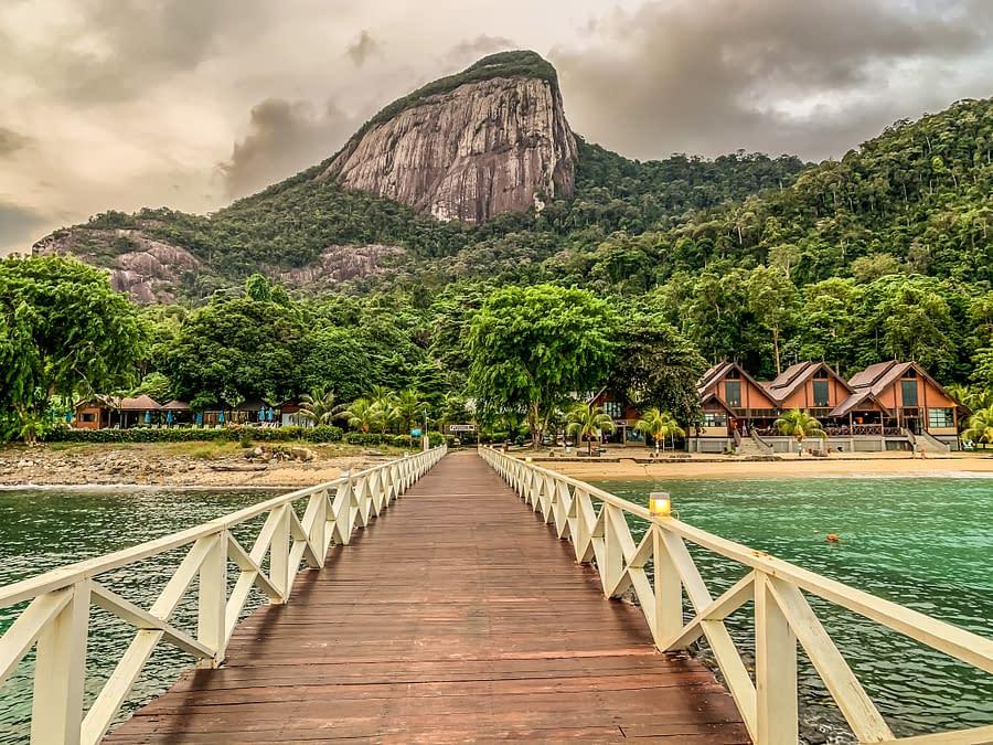 остров Тиоман самый красивый остров Малайзии